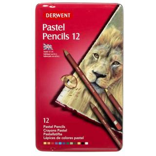 12 Derwent Pastel Pencils