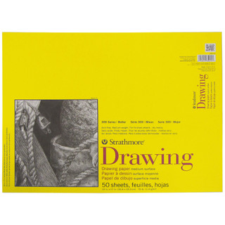 "Strathmore Drawing Paper - 14"" x 17"""