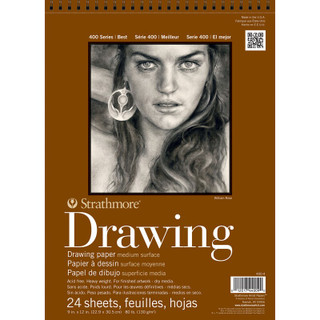 Drawing paper 24 sheets 11 x 14 in