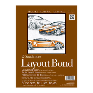 Layout Bond paper 50 sheets 9 x 12 inches