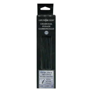 Grumbacher Charcoal - 1 stick - Extra Thick