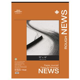 """Pro Art Rough Newsprint - 12"""" x 18"""""""