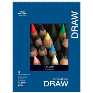 "Pro Art Drawing Pad - 18"" x 24"""