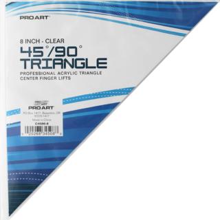 """TRI 8"""" 45/90 Degrees Triangle"""