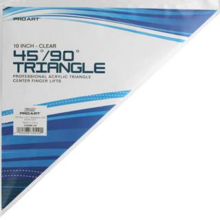 """TRI 10"""" 45/90 Degrees Triangle"""