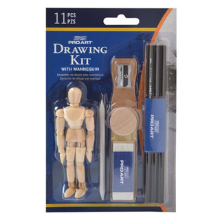 Pro Art 11 Piece Drawing Kit