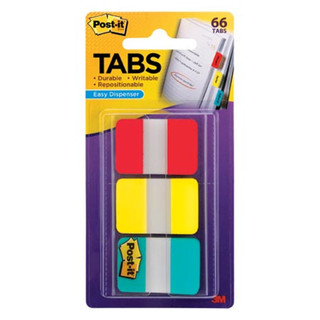 Post-it Tabs - 3 Color Pack - Primary