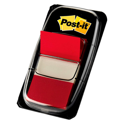 Post-It Tape Flags - Red 50 Count