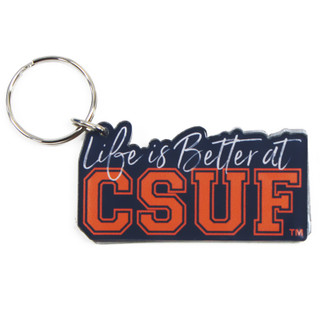 Life is Better at CSUF Key Ring - N
