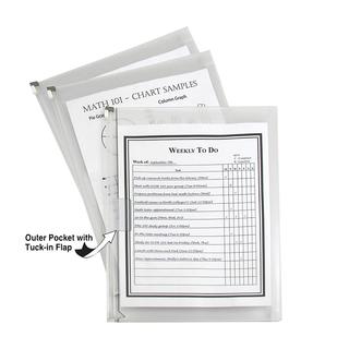 Zip 'N Go Reusable Envelope Letter Size 3 Pack