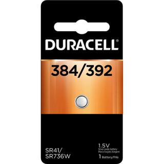 Duracell 384/392 Silver Oxide Button Battery