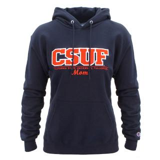 Classic CSUF Mom Script Hoodie - Na
