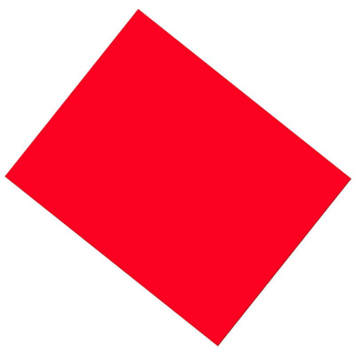 Poster Board Neon Hot Red 4 Ply