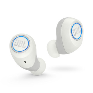 JBL Free Wireless In-Ear Earbuds - White - 1