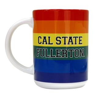 Cal State Fullerton Pride Mug - White