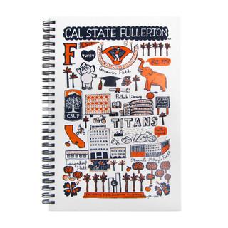 Julia Gash CSUF Mini Notebook