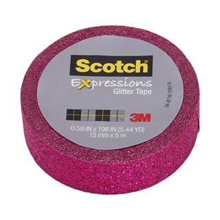 Scotch Expressions Glitter Tape - Pink