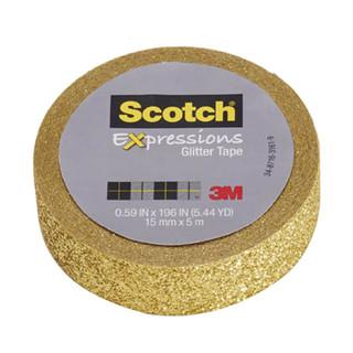 Scotch Expressions Glitter Tape - Gold