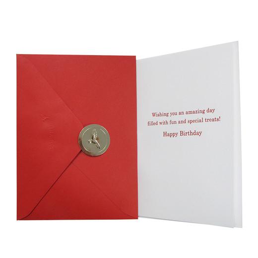 Mickey Birthday Greeting Card - Back