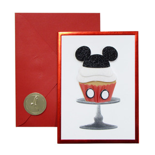 Mickey Birthday Greeting Card - Front