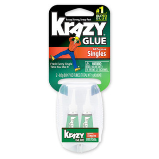 Krazy Glue All Purpose Singles - 2 pack