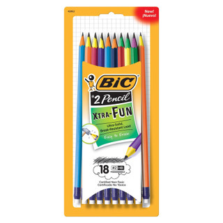 Bic #2 Pencil Xtra-Fun - 8 pack