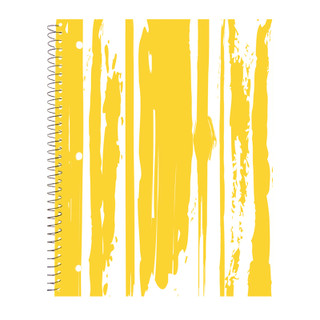 Modern Jen 1 Subject Notebook - Drips
