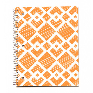 Modern Jen 1 Subject Notebook - Diamonds