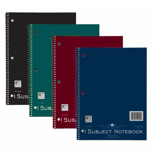 Matte Notebook - 1 Subject