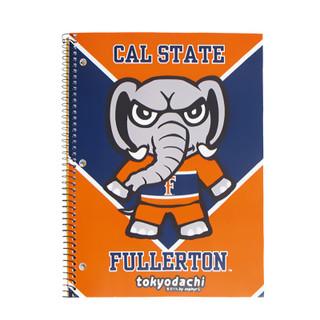 Tokyodachi Tuffy Titan Notebook - Orange - 1 Subject