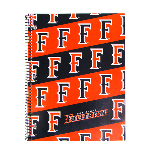 """""""F"""" Stripes Notebook - 1 Subject"""