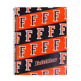 """F"" Stripes Notebook - 1 Subject"
