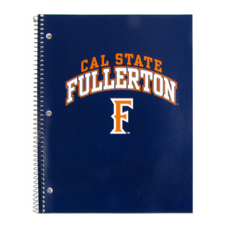 Cal State Fullerton Notebook - 1 Subject