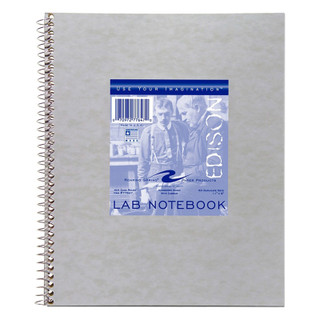 Lab Spiral Notebook - 50 pages