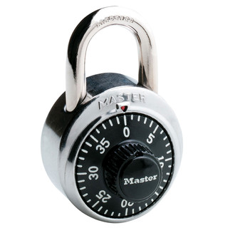 Master Lock Combo Lock - Black