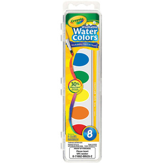 Crayola Washable Water Colors - 8 Count