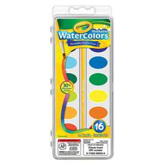 Crayola Washable Water Colors - 16 Count