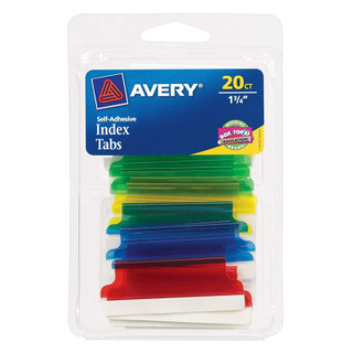 Avery Insertable Tabs - 20 pack
