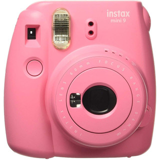 Fujifilm Instax Mini 9 Camera - Flamingo Pink
