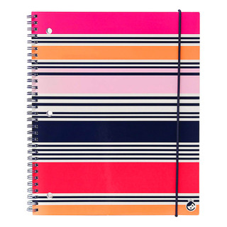 Carolina Striped Notebook
