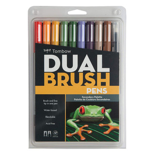 Tombow Dual Brush Pens - 10 Pack