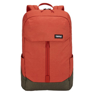 Thule Sweden Lithos 20L Backpack - Orange with Army Green