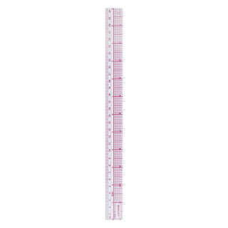 Westcott 8ths Graph Beveled Ruler