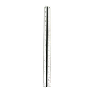 C-THRU 30cm Metric Triangular Scale