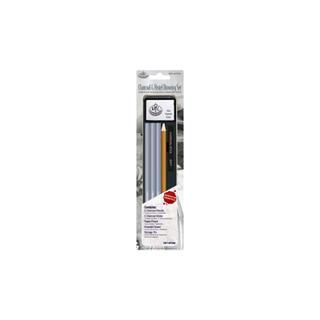 Royal Langnickel Charcoal & Pastel Mini Tin