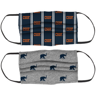 Legacy Three Layer Face Mask W/CSUF & Tuffy