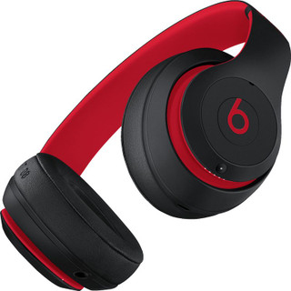 Beats Studio3 Wireless Headphones - Black/Red