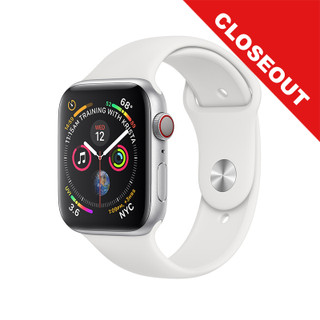 Apple Watch Series 4 GPS + Cellular - Silver - 44mm - Closeout