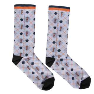 Fullerton Argyle Dress Socks