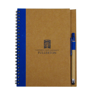 CSUF Small Notebook with Pen